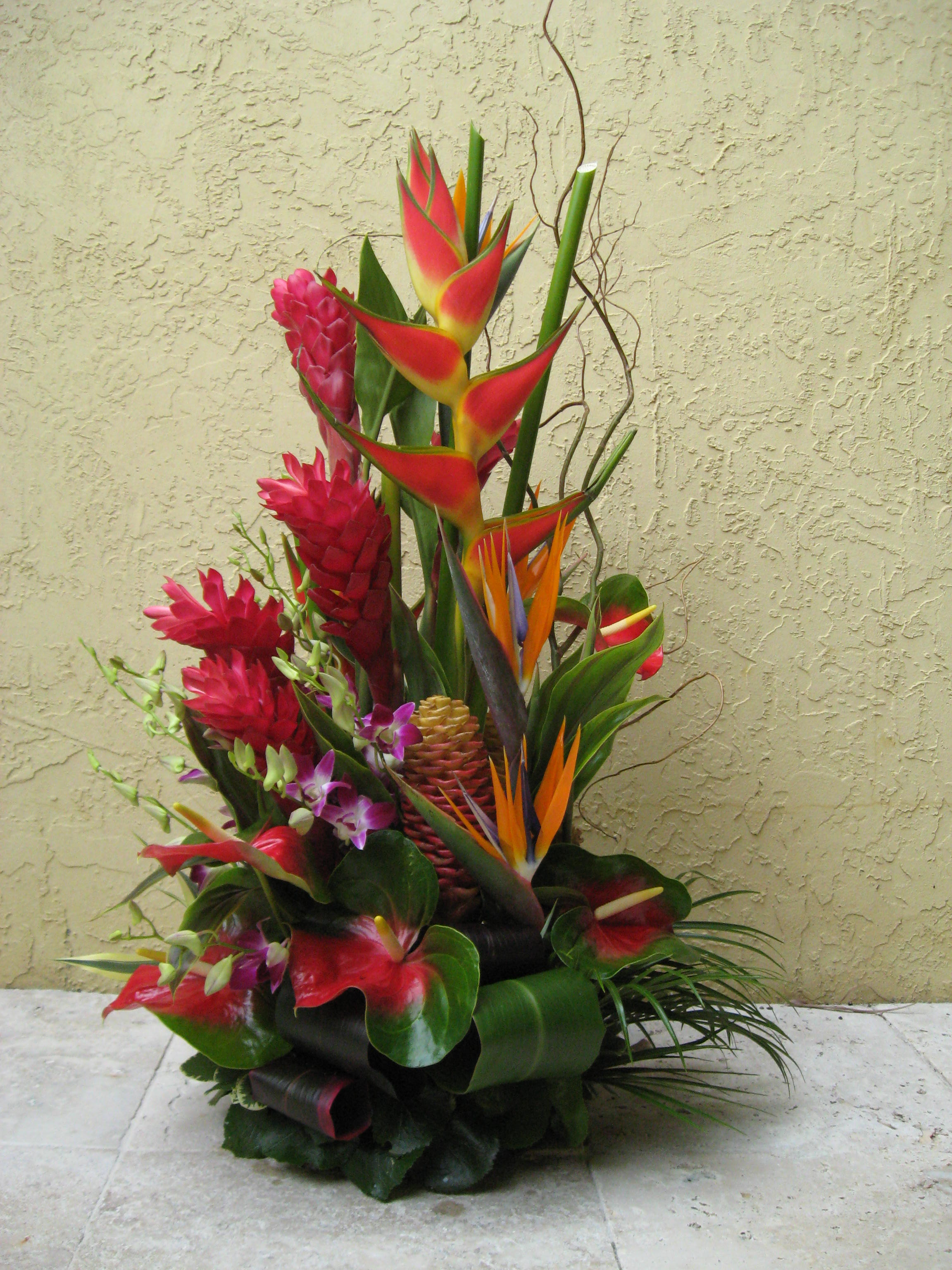 exotic flower arrangements pictures  flowers gallery, Natural flower